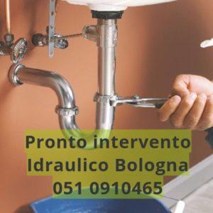intervento idraulico Bologna