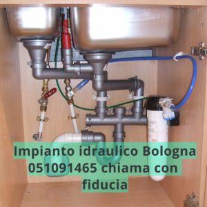 iimpianto idraulico Bologna